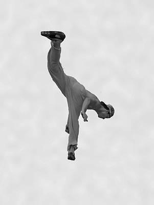 Jumping Man Print by Matthew Bamberg