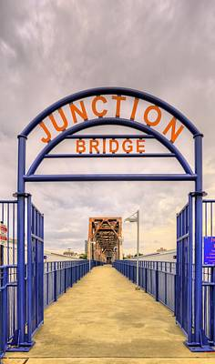 Photograph - Junction Bridge Little Rock by JC Findley