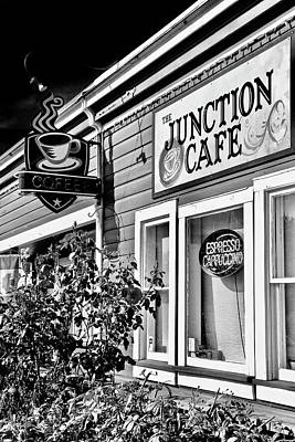 Photograph - Junction Cafe by Brian Sereda