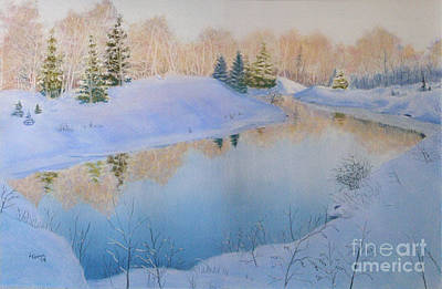 Painting - Junction Creek by Lynn Quinn