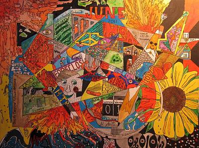 Mixed Media - June 2011 by David Sutter