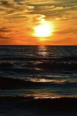Photograph - June 21 - 2017 Sunset At Wasaga Beach  by Lyle Crump