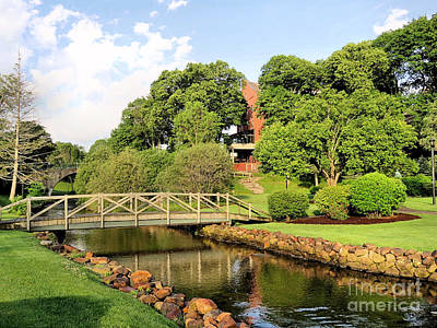 Photograph - June In Brewster Gardens by Janice Drew