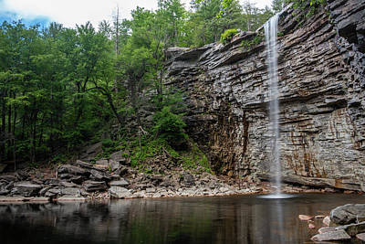 Photograph - June Morning At Awosting Falls II by Jeff Severson
