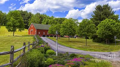 Photograph - June Photograph For The 2017 Calendar. by New England Photography