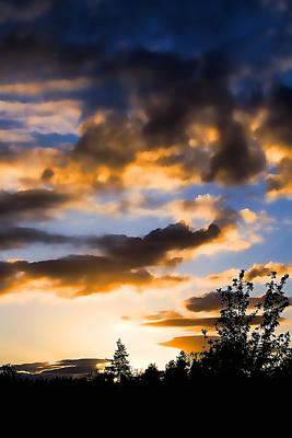 Impressionist Landscapes - June Sunset by David Patterson