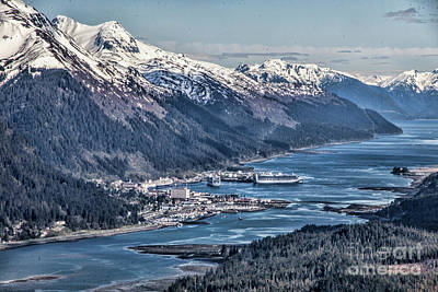 Photograph - Juneau From Above by Shirley Mangini