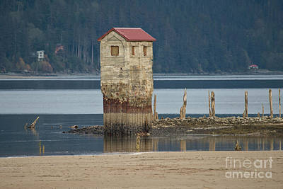 Photograph - Juneau Salt Pump by Loriannah Hespe