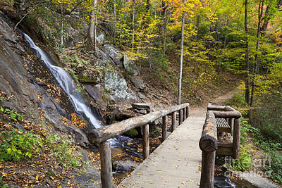 Photograph - Juney Whank Falls And A Place To Rest by Jill Lang
