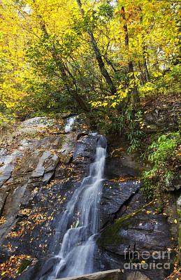 Photograph - Juney Whank Falls In North Carolina by Jill Lang