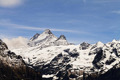 Grindelwald Photograph - Jungfrau  Grindelwald, Bernese by Kav Dadfar