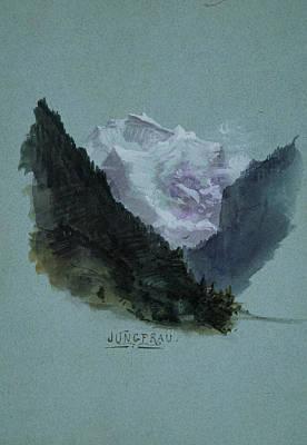 Drawing - Jungfrau by John Singer Sargent
