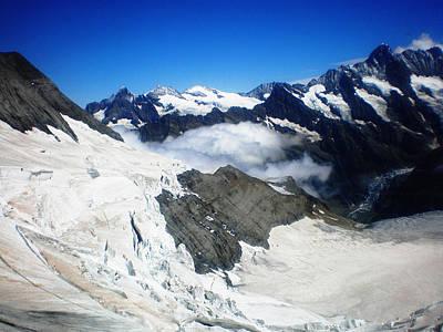 Jungfraujoch Photograph - Jungfraujoch by Leena Kewlani