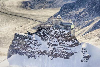 Jungfraujoch Photograph - Jungfraujoch Top Of Europe  by Craig Voth