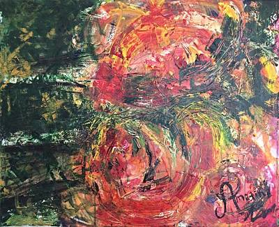 Positive Concept Painting - Jungle Beats by Mahlia Amatina