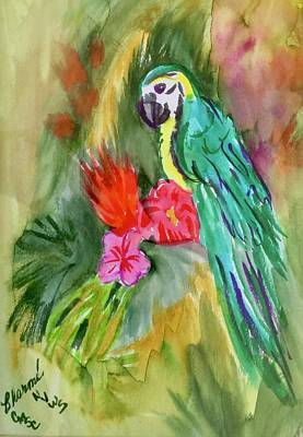 Painting - Jungle Bird by Charme Curtin