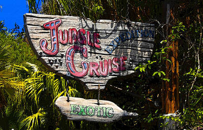 Jungle Cruise Art Print by David Lee Thompson