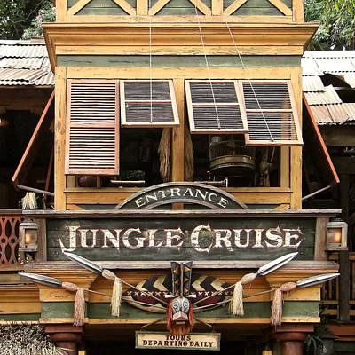 Photograph - Jungle Cruise - Disneyland by KJ Swan