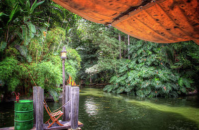 Photograph - Jungle Cruise Docks by Mark Andrew Thomas