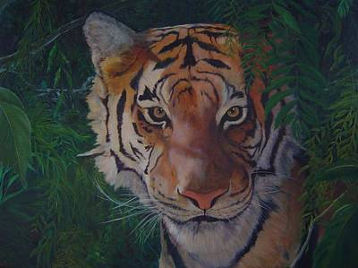 Painting - Jungle Eyes by James Berger