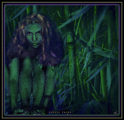 Photograph - Jungle Fairy by Larry Rice