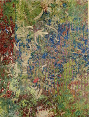 Mixed Media - Jungle Footprints by Susan Richards