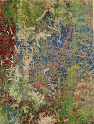 Mixed Media - Jungle Footprints by Susan Richards