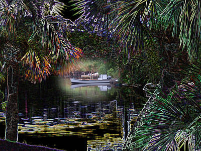Jungle Glow Art Print by Rick McKinney