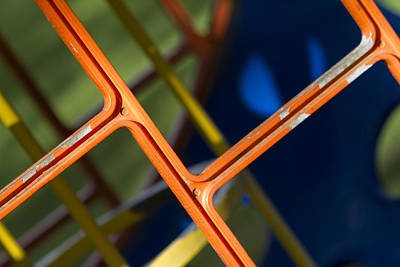 Playground Photograph - Jungle Gym by Rebecca Cozart