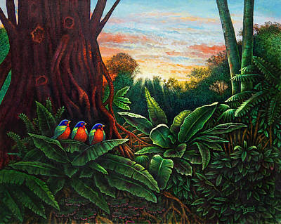 Jungle Harmony 3 Art Print