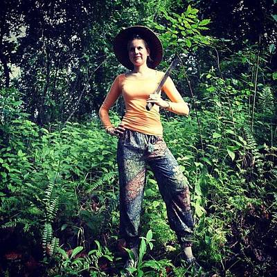 Sunny Photograph - Jungle Hunting @ The Moluks by Marleen Hoftijzer