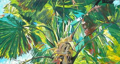 Jungle Art Print by Jan Farara