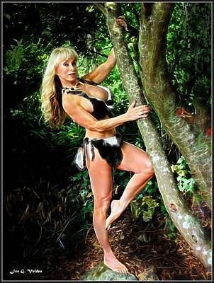 Photograph - Jungle Jane by Jon Volden