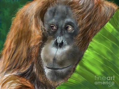 Jungle Lady Art Print