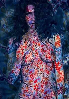 Digital Art - Jungle Lady by Yury Malkov