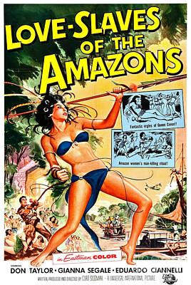 Reynold Brown Poster Photograph - Jungle Movie Poster 1957 by Padre Art