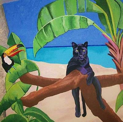 Painting - Jungle Mural by Kathleen Heese