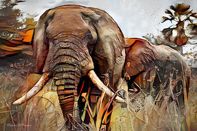Mixed Media - Jungle Patrol by Pennie McCracken