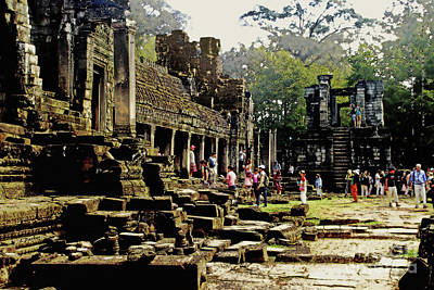 Jungle Ruins-cambodia Art Print