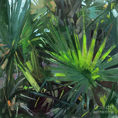 Wall Art - Painting - Jungle Sharp by Patrick Saunders