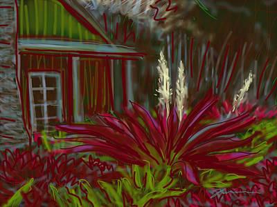 Painting - Jungle Sparklers by Jean Pacheco Ravinski