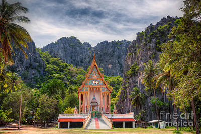 Wat Photograph - Jungle Temple by Adrian Evans