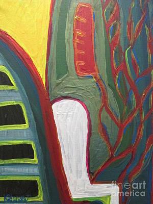 Jungle Undergrowth  - Sierra Leone Art Print