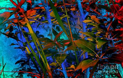 Painting - Jungle Vibrations by Tlynn Brentnall