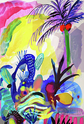 Painting - Jungle Vision by Amara Dacer