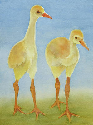 Painting - Junior Birdmen by Judy Mercer