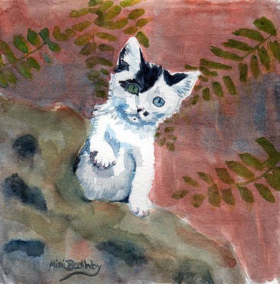Painting - Junior by Mimi Boothby
