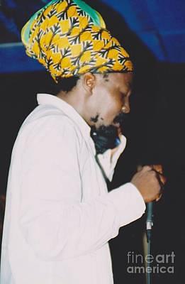 Junior Reid Black Uhuru Frontman Art Print by Mia Alexander