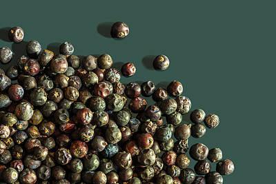 Photograph - Juniper Berries by Peter V Quenter