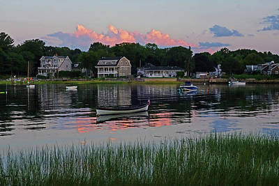 Photograph - Juniper Cove Canoe Salem Ma At Sunset by Toby McGuire